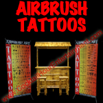 airbrush tattoos carnival game