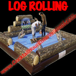 log rolling button