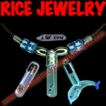 rice jewelry button