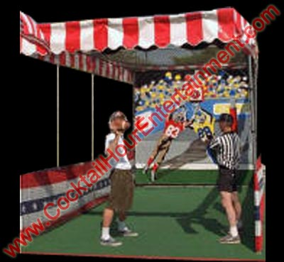 carnival quarterback toss game